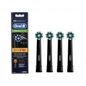 Oral-B - Børstehoved Cross Action 3+1 black edition